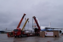 "95-ton Oil Refinery Compressor Arrives as Krasnoyarsk Celebrates ""Russian Air Fleet Day"""