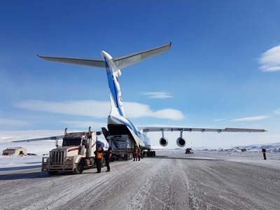 Volga-Dnepr's quick-thinking will help Canadian iron ore mining project increase its 2017 production target
