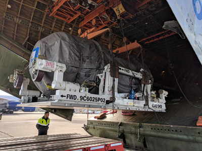Volga-Dnepr Airlines operates first charter flight for GECAS