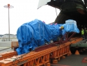 Volga-Dnepr engineers special transport frame for 59 tonne oil rig compressor delivery