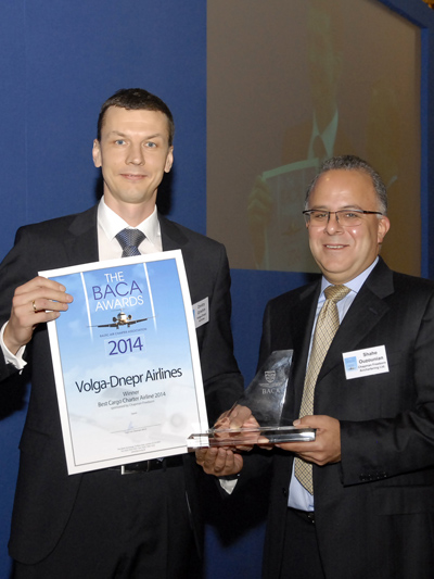 Baltic Air Charter Association Honours Volga-Dnepr Airlines with 'Best Cargo Charter Airline' Award