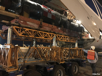 Volga-Dnepr's IL-76TD-90VD Guarantees Dedicated Airlift for Heavy Machinery Equipment