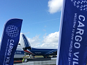 Cargo Village, Farnborough International Airshow-2016, 11 July, Farnborough, United Kingdom